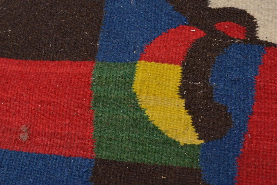 After Joan Miro wool tapestry - 3