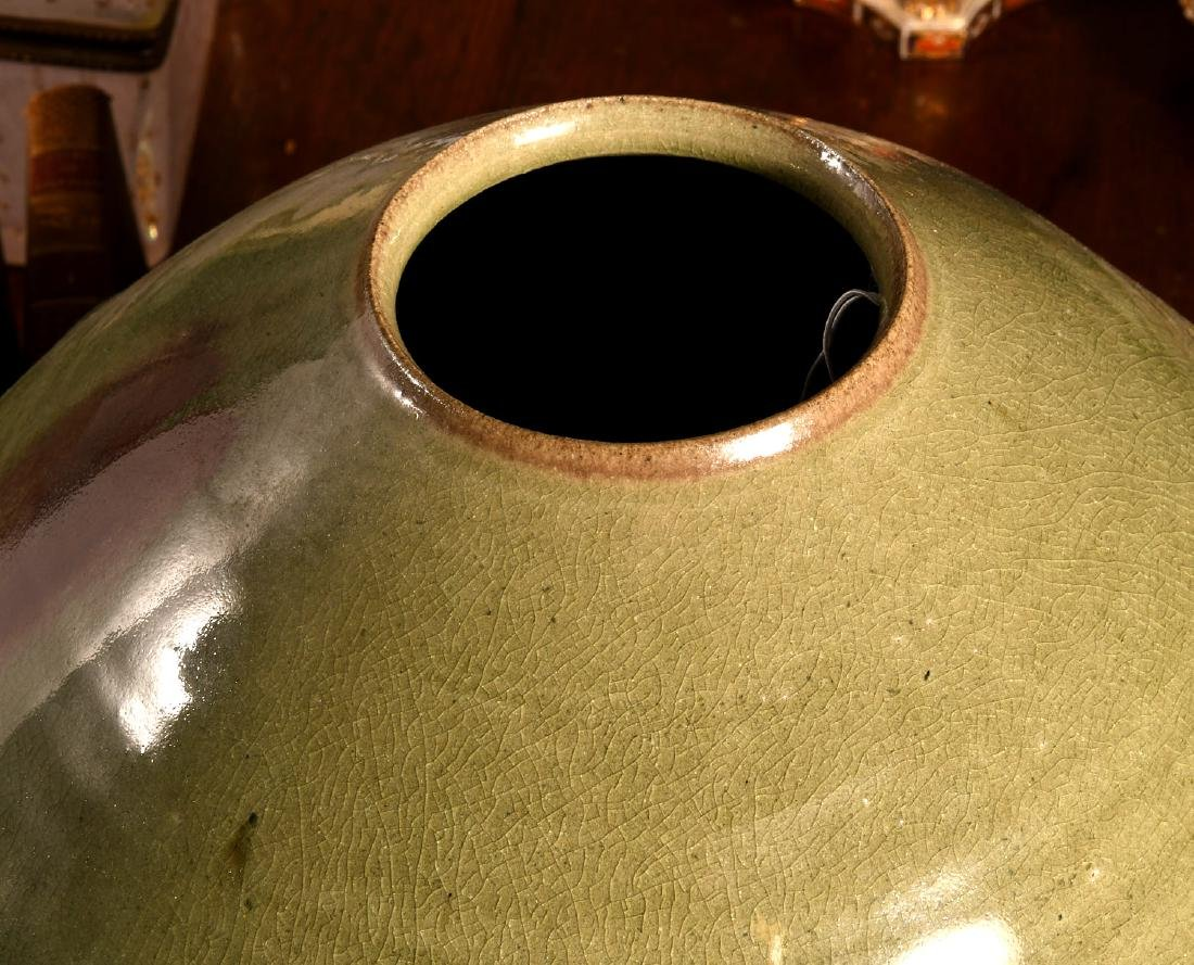 (2) nice Studio pottery vessels - 2