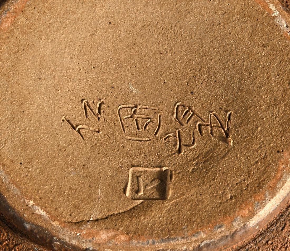 (2) nice Studio pottery vessels - 6