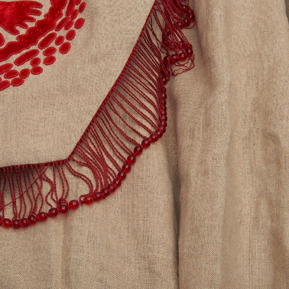 (4) fine drapery panels with cornice - 2