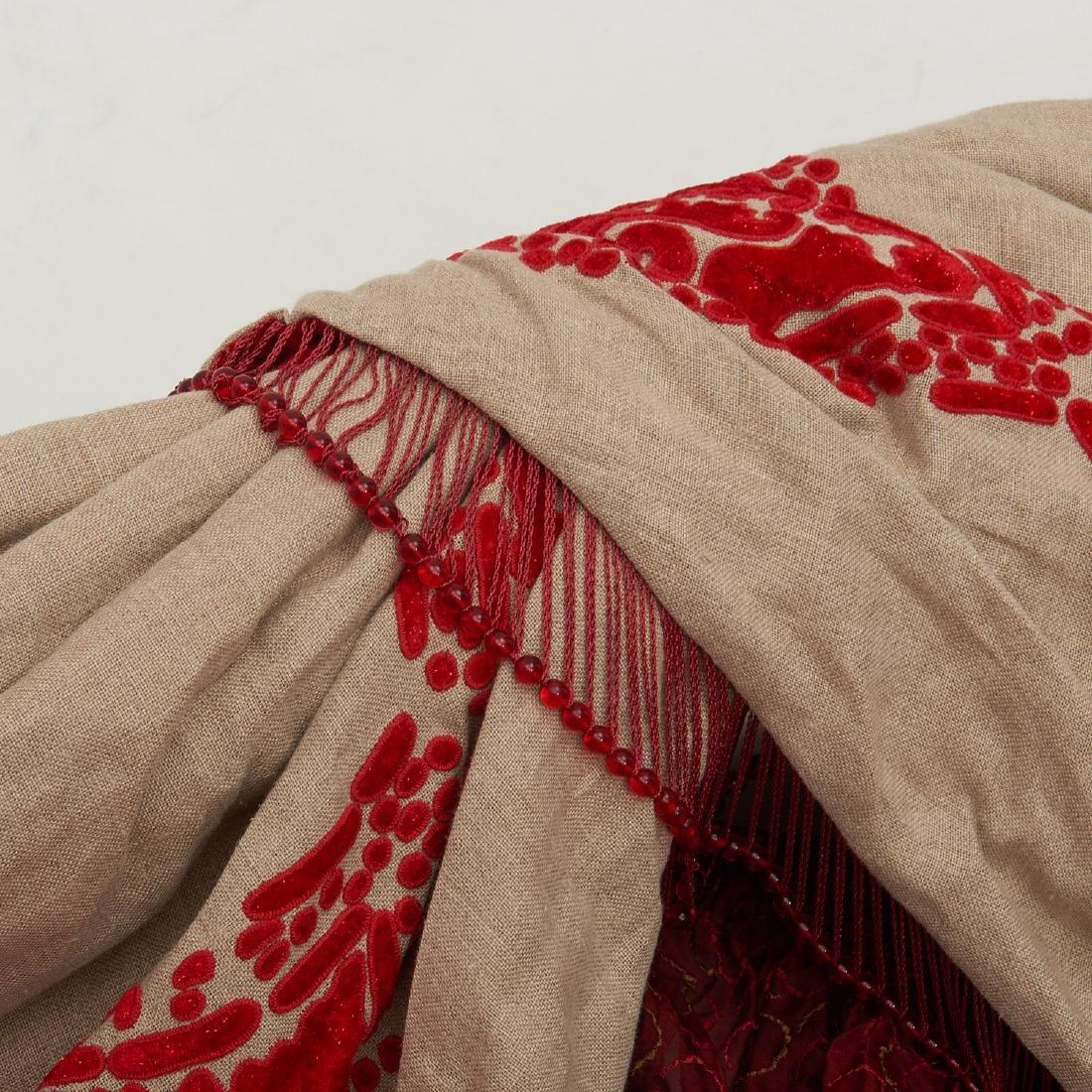 (4) fine drapery panels with cornice - 3