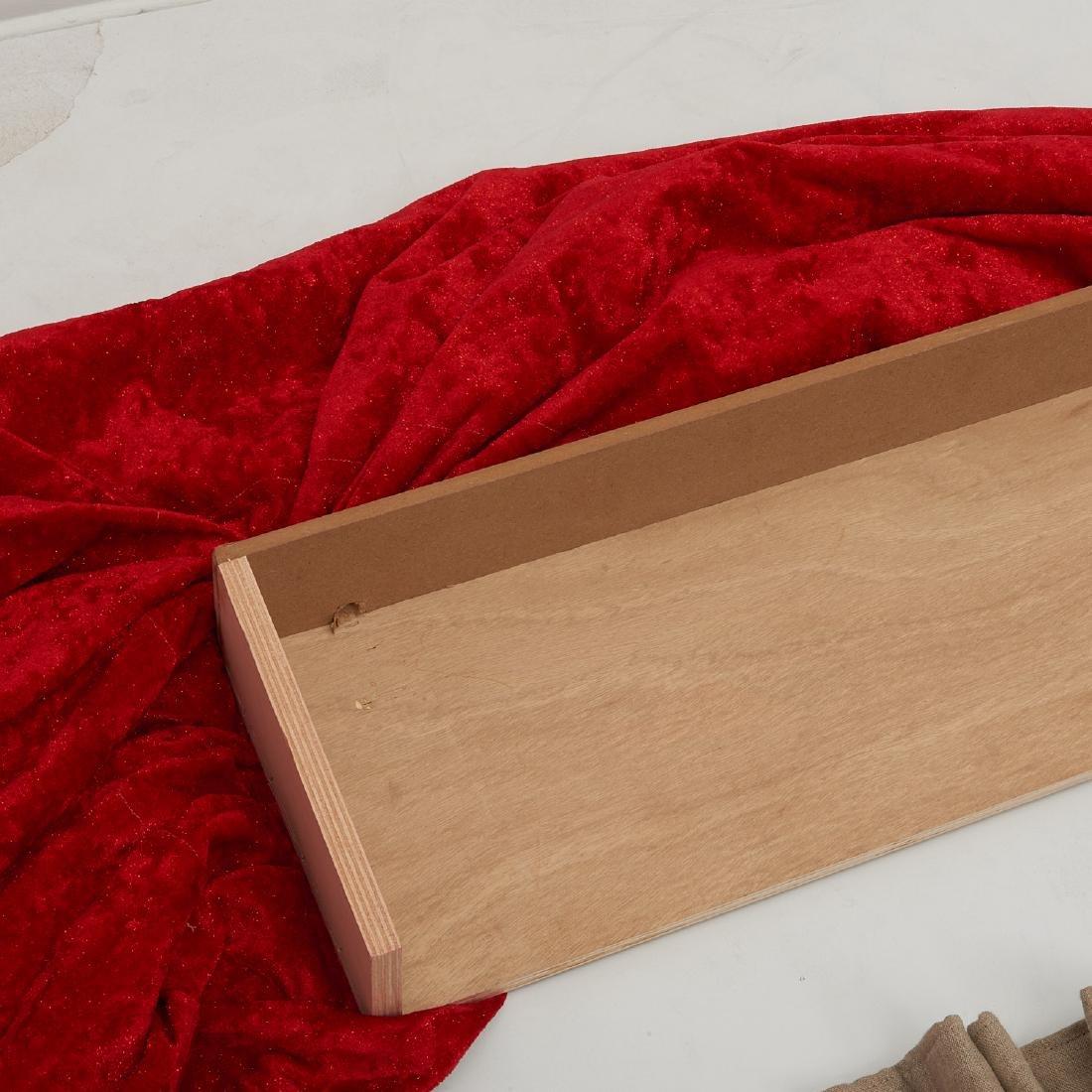 (4) fine drapery panels with cornice - 6