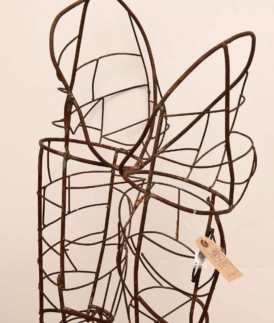 Dada style wirework figural topiary frame - 3