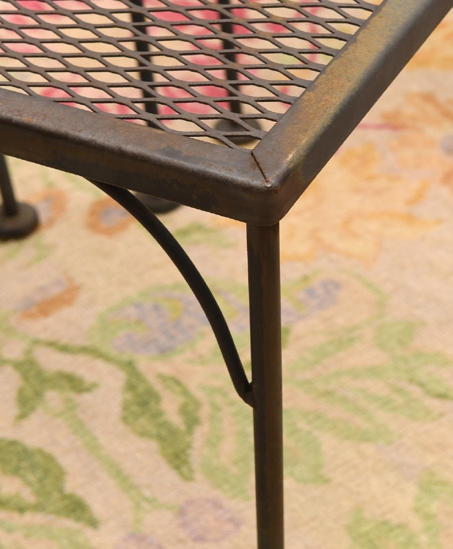 (3) piece vintage wrought garden set - 3
