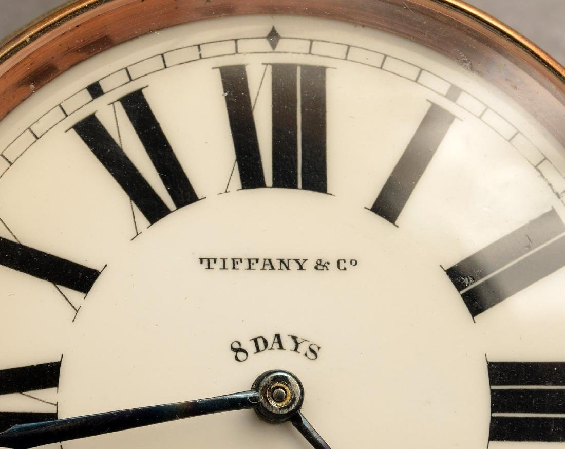 Antique Tiffany & Co. open face pocket watch - 3