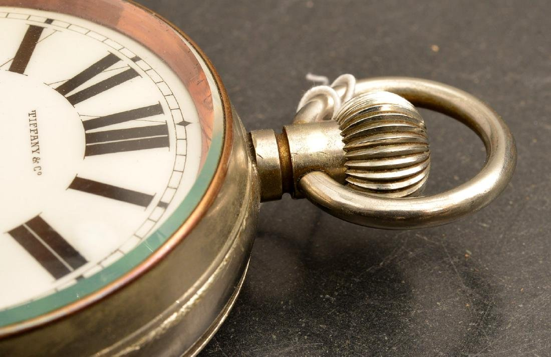 Antique Tiffany & Co. open face pocket watch - 5