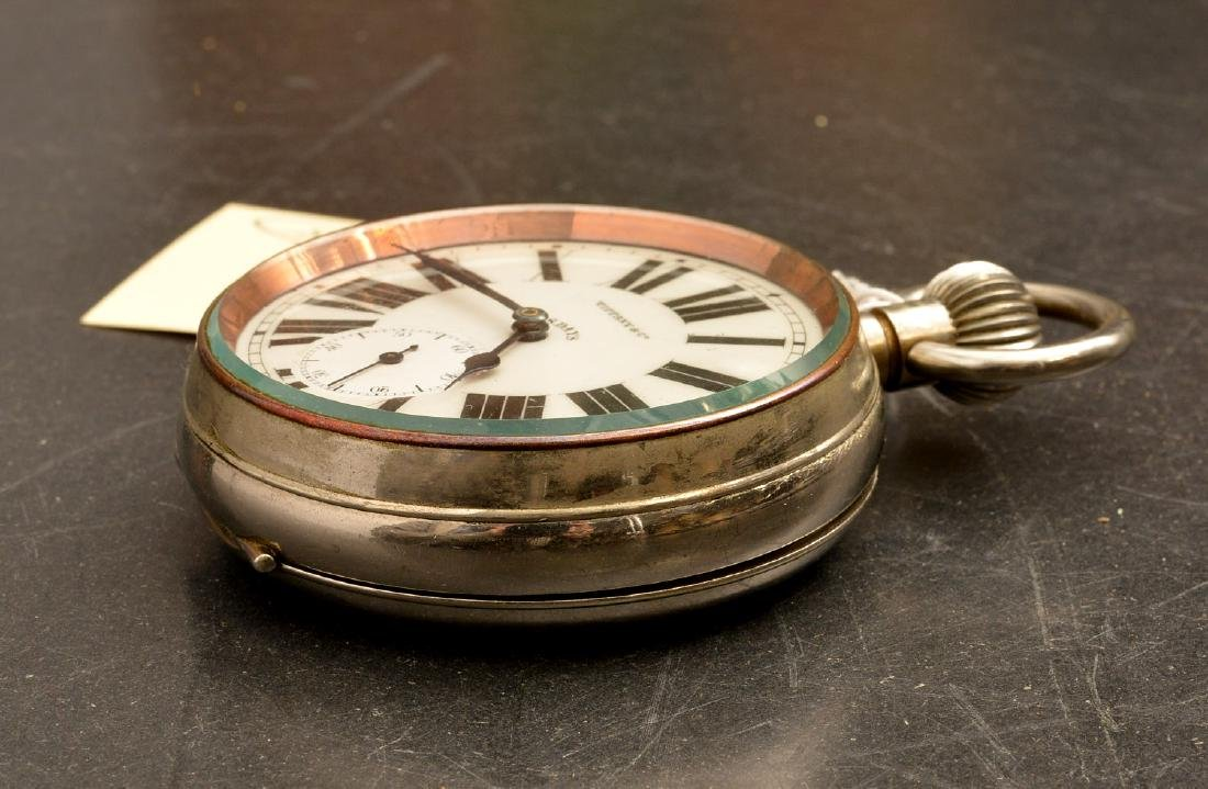 Antique Tiffany & Co. open face pocket watch - 6