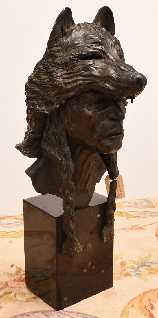 B. Roman, bronze Wolfman sculpture