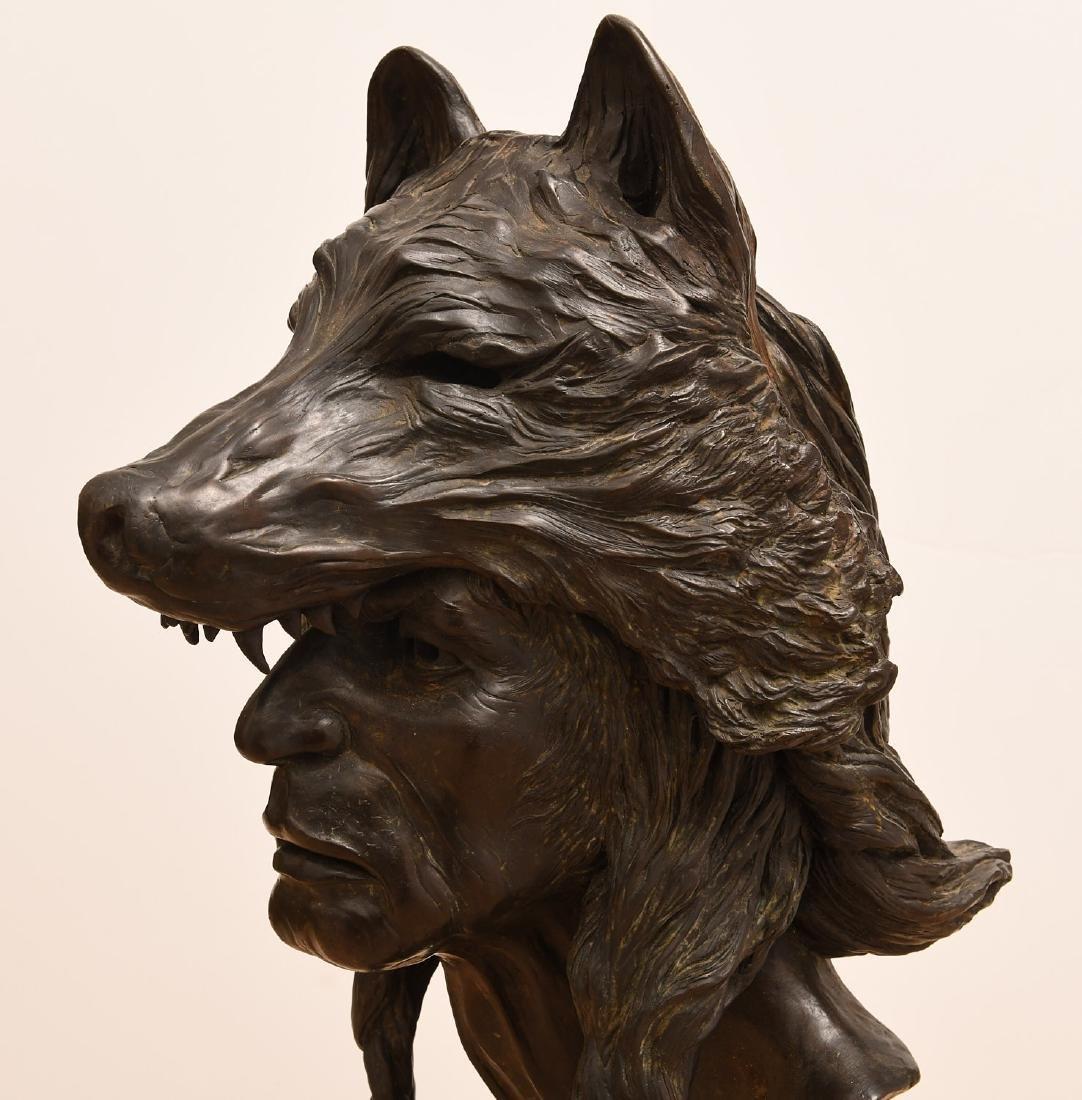 B. Roman, bronze Wolfman sculpture - 2