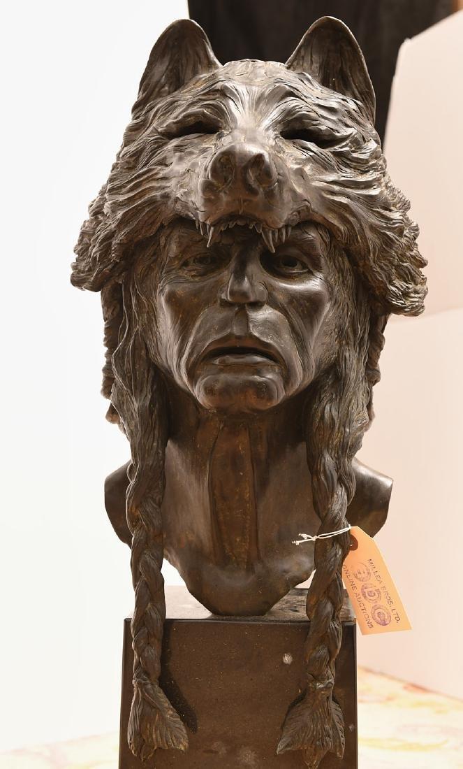 B. Roman, bronze Wolfman sculpture - 3