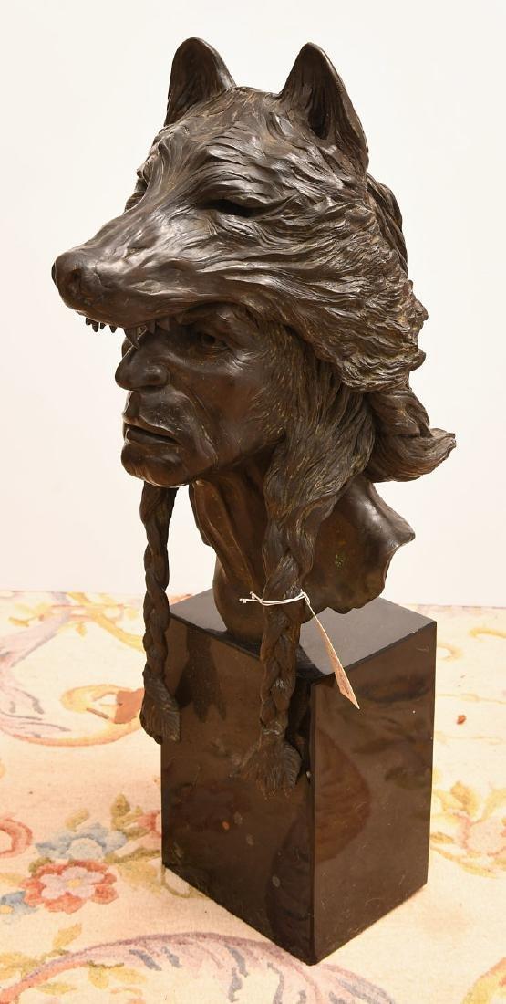 B. Roman, bronze Wolfman sculpture - 4