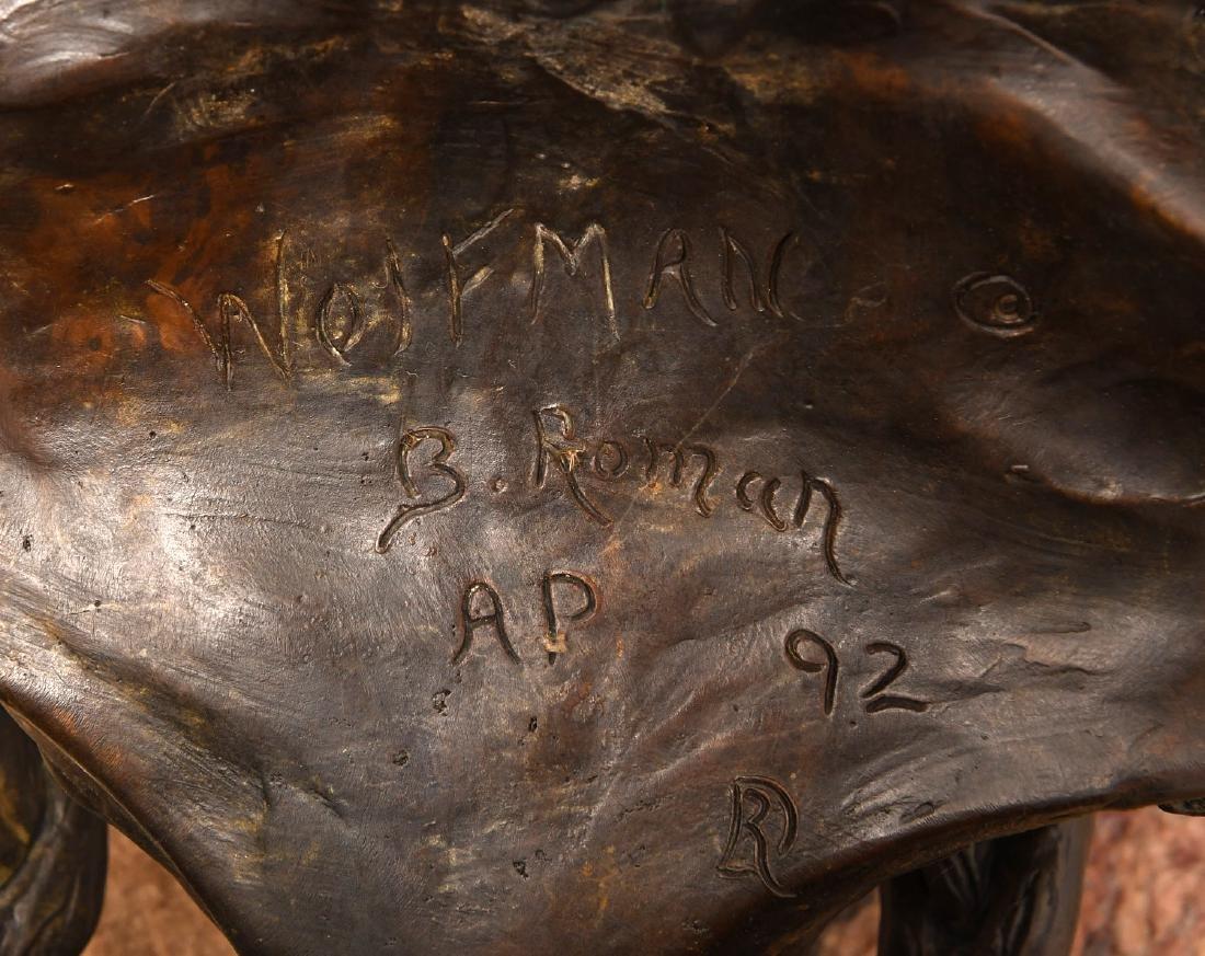 B. Roman, bronze Wolfman sculpture - 8