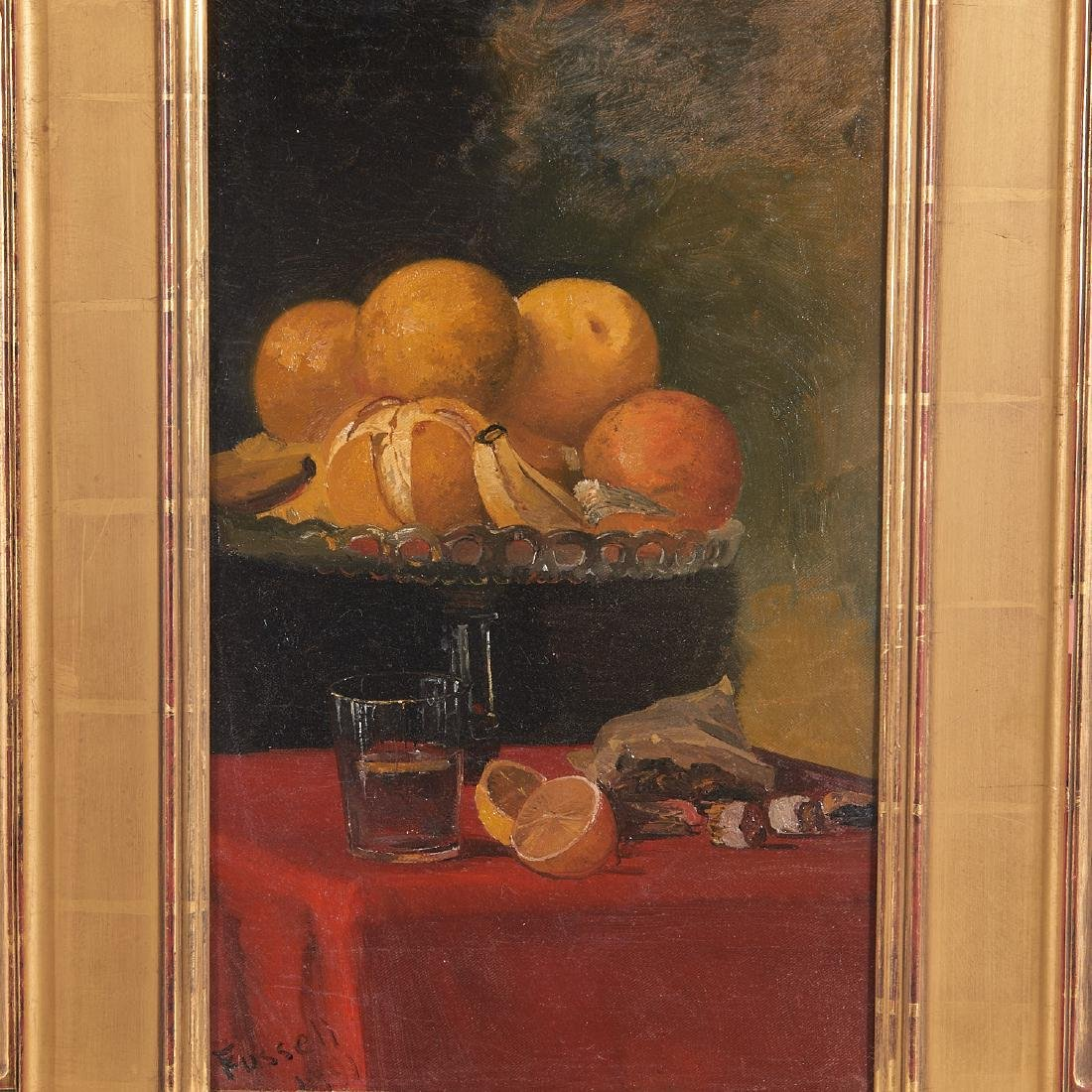 Charles Fussell, painting - 2