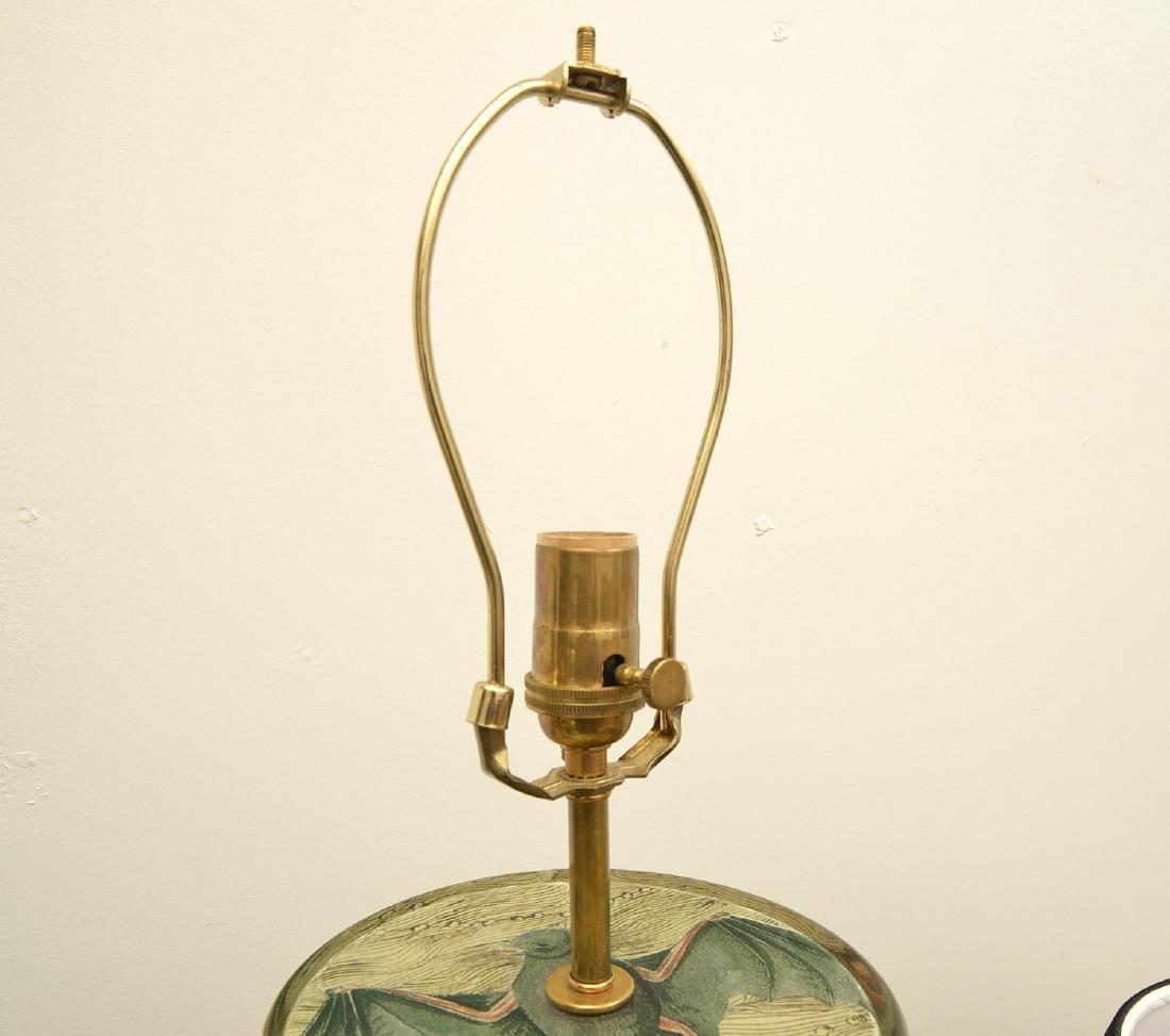 John Derian cylinder bat table lamp - 3
