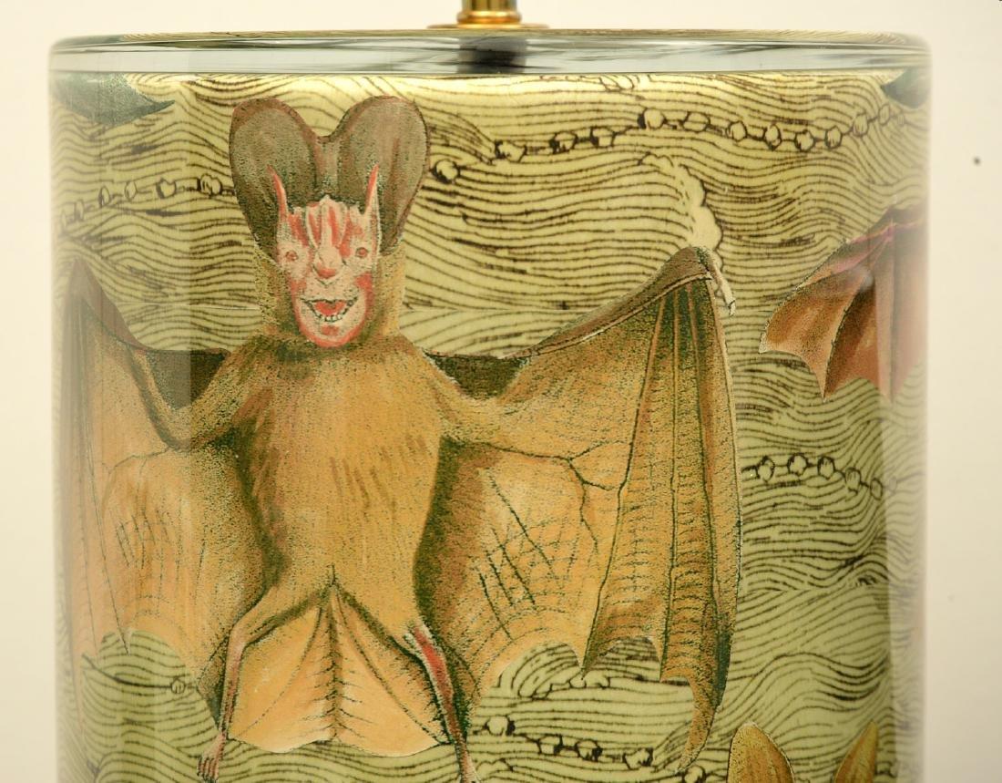 John Derian cylinder bat table lamp - 4