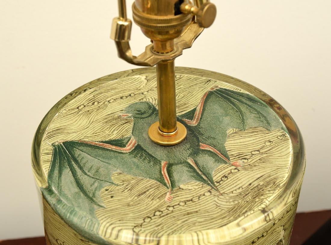 John Derian cylinder bat table lamp - 6