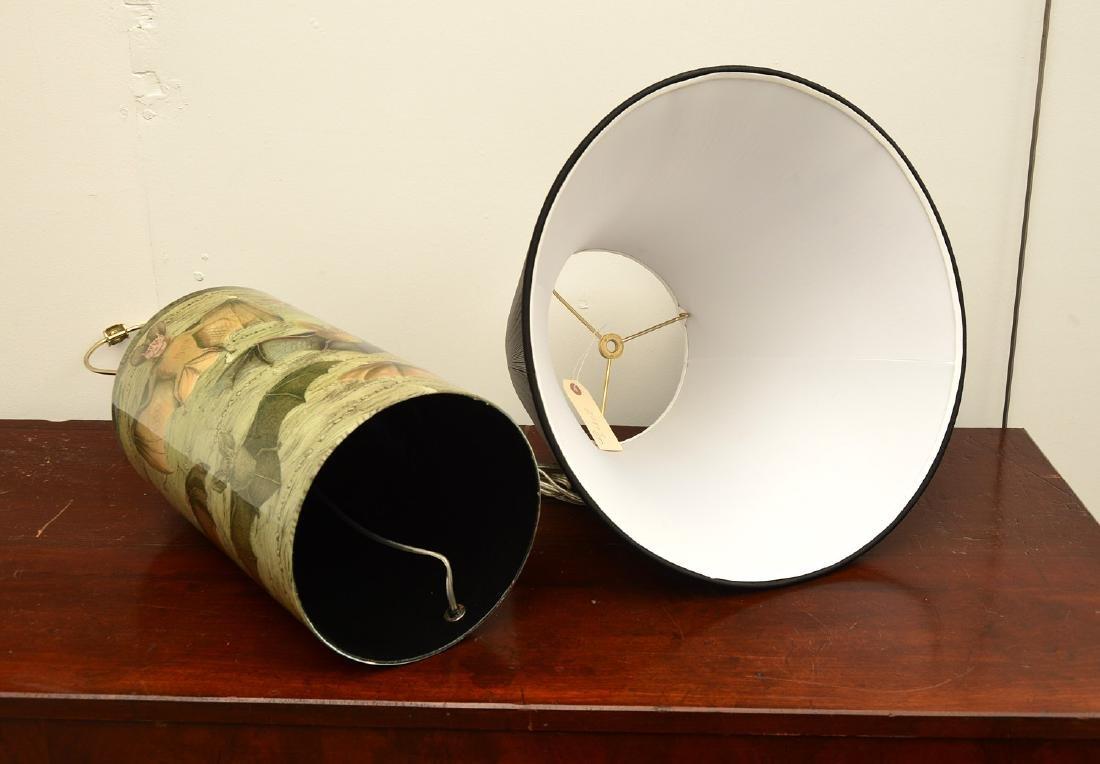 John Derian cylinder bat table lamp - 7