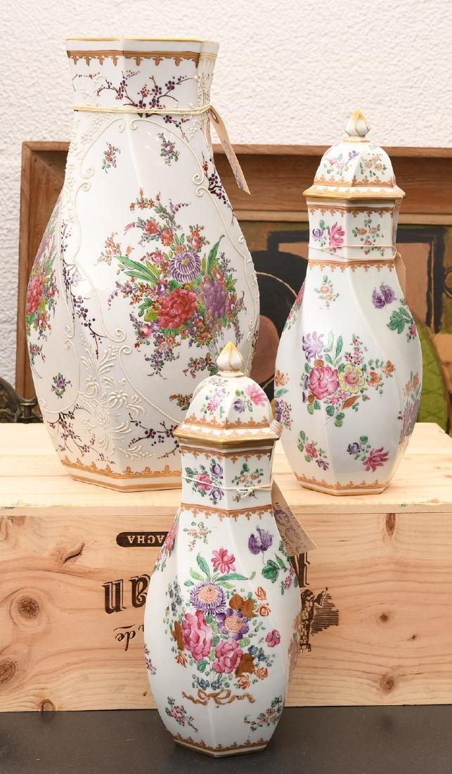 Samson Chinese Export style porcelain garniture - 2
