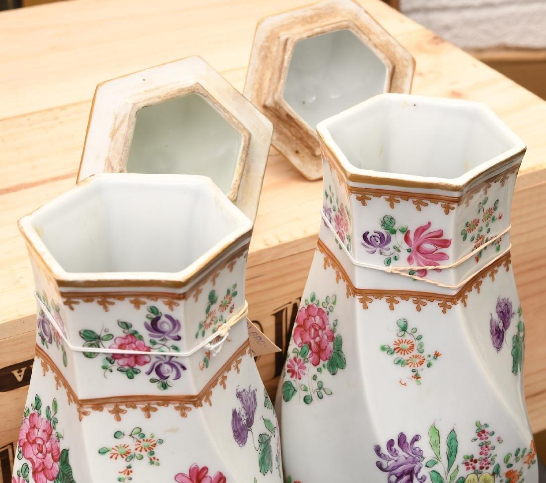 Samson Chinese Export style porcelain garniture - 4