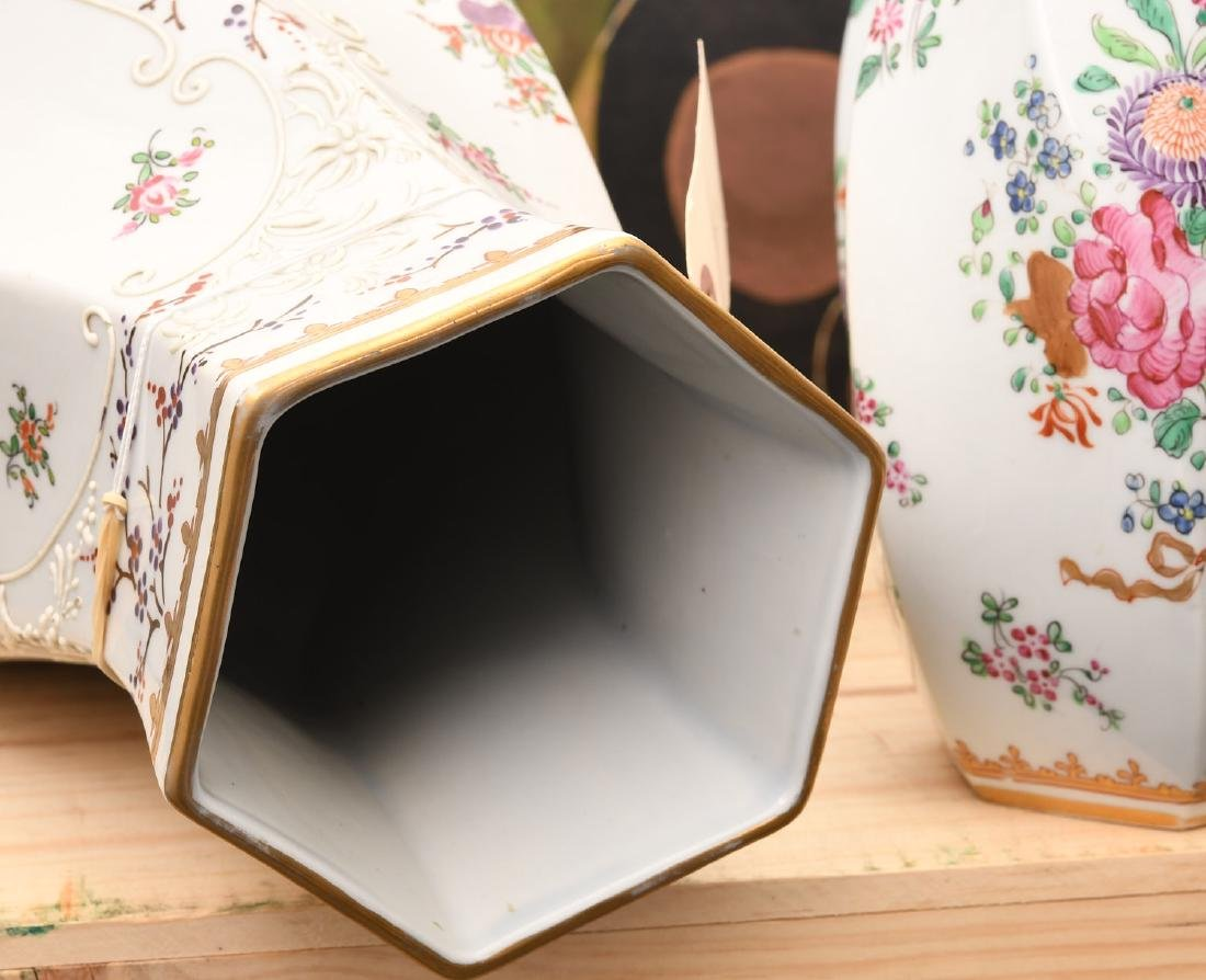 Samson Chinese Export style porcelain garniture - 6