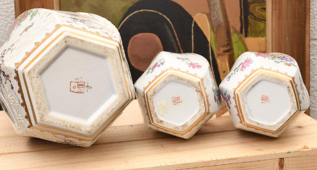 Samson Chinese Export style porcelain garniture - 8