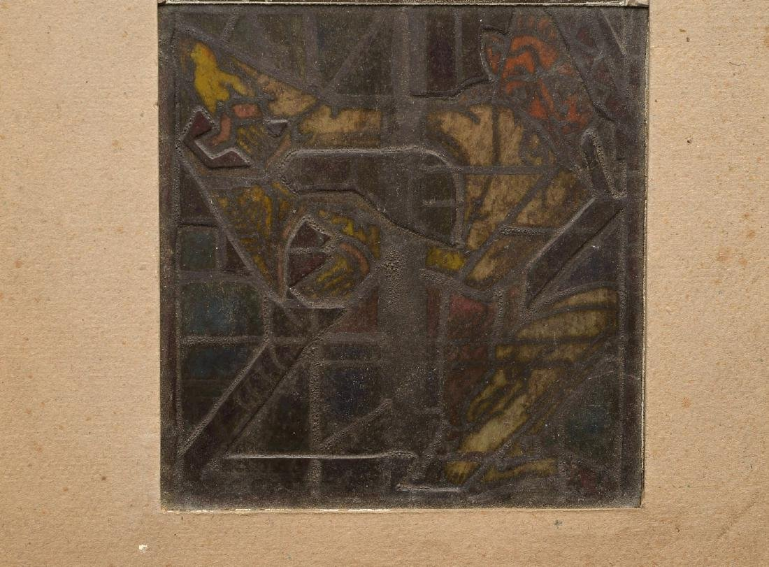 Stained glass panel - 5