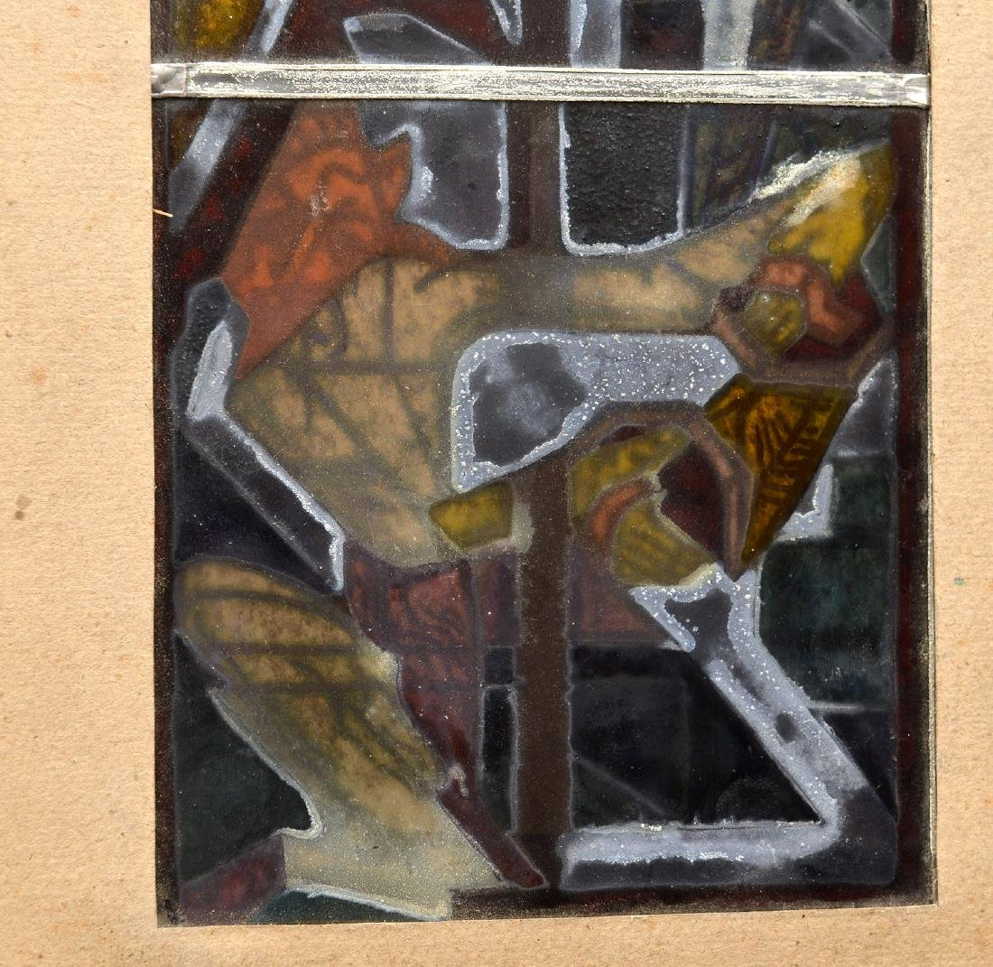 Stained glass panel - 9