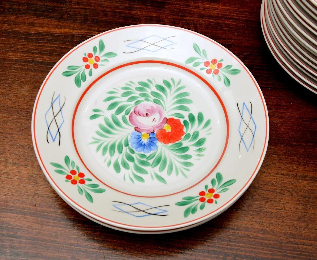 (17) Hollohaza dinner plates - 2