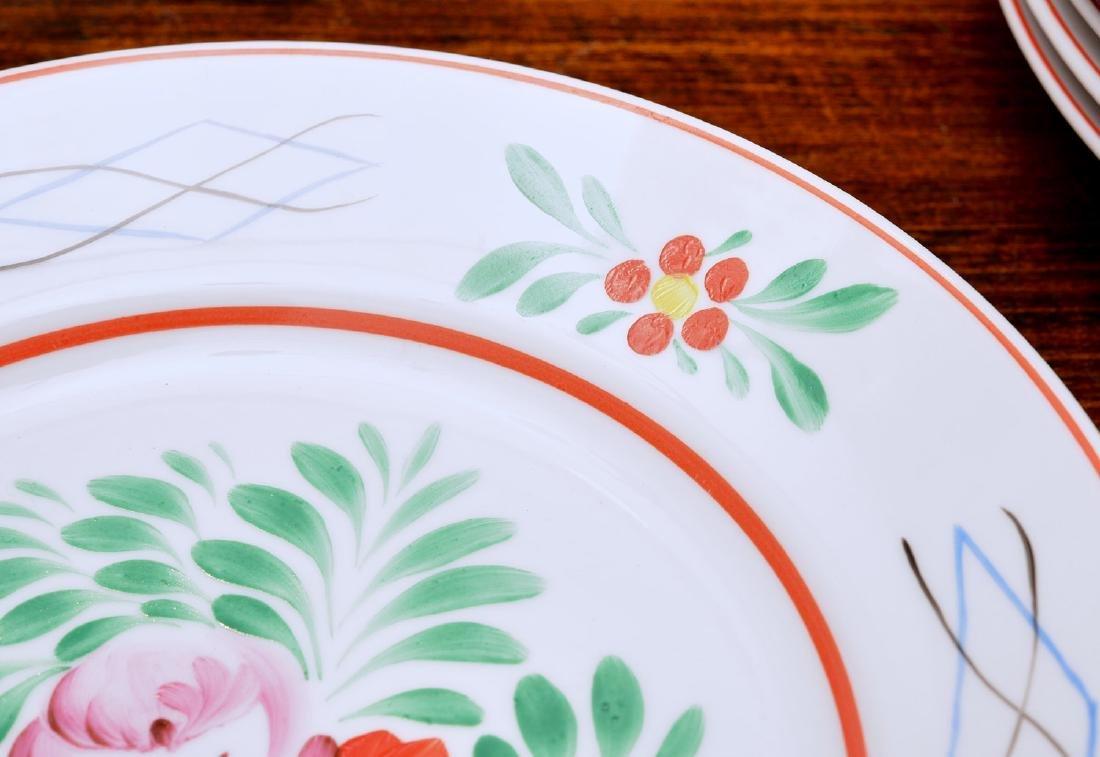(17) Hollohaza dinner plates - 3