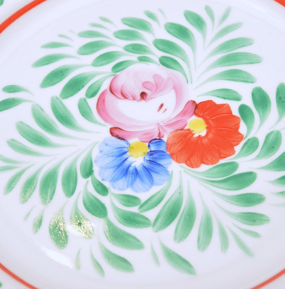 (17) Hollohaza dinner plates - 4