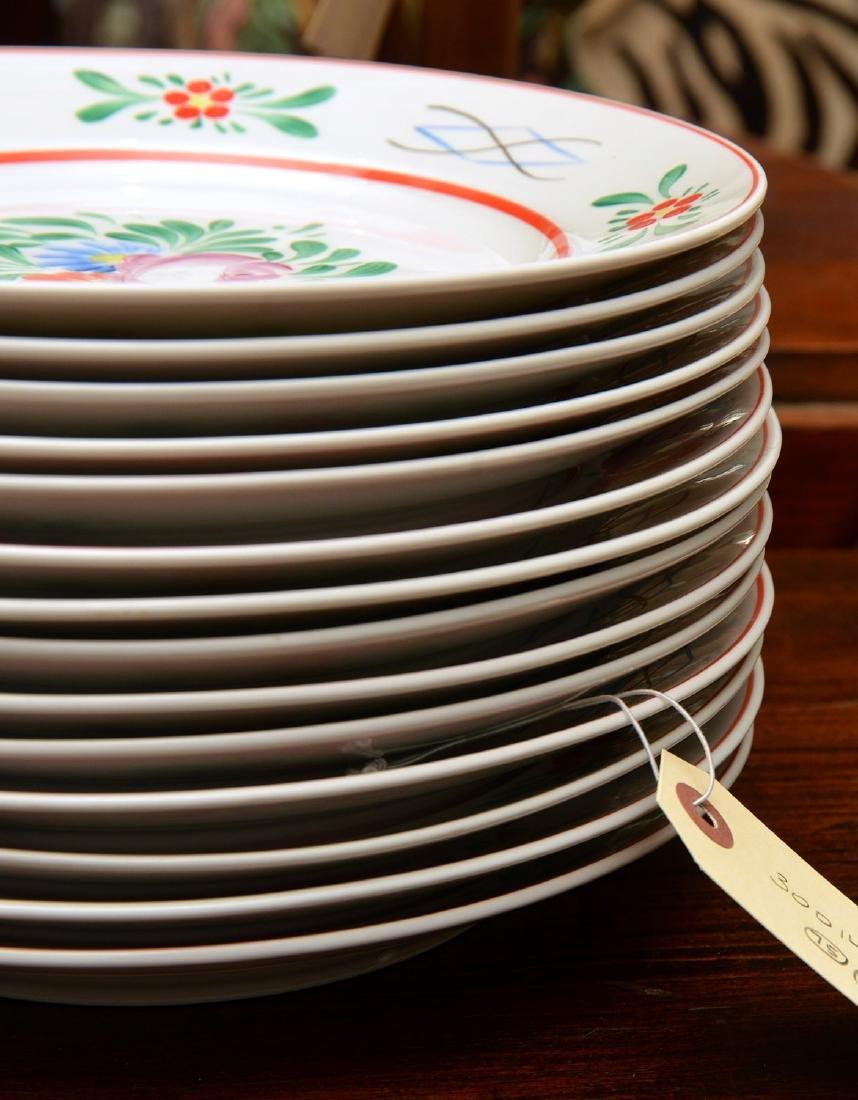 (17) Hollohaza dinner plates - 5