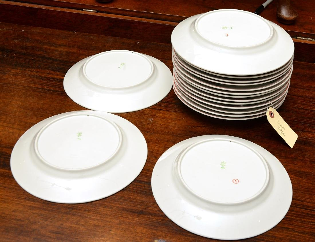 (17) Hollohaza dinner plates - 6
