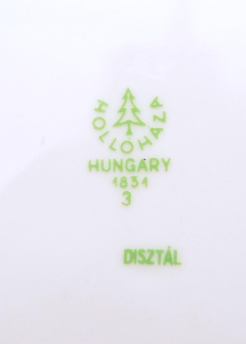 (17) Hollohaza dinner plates - 7