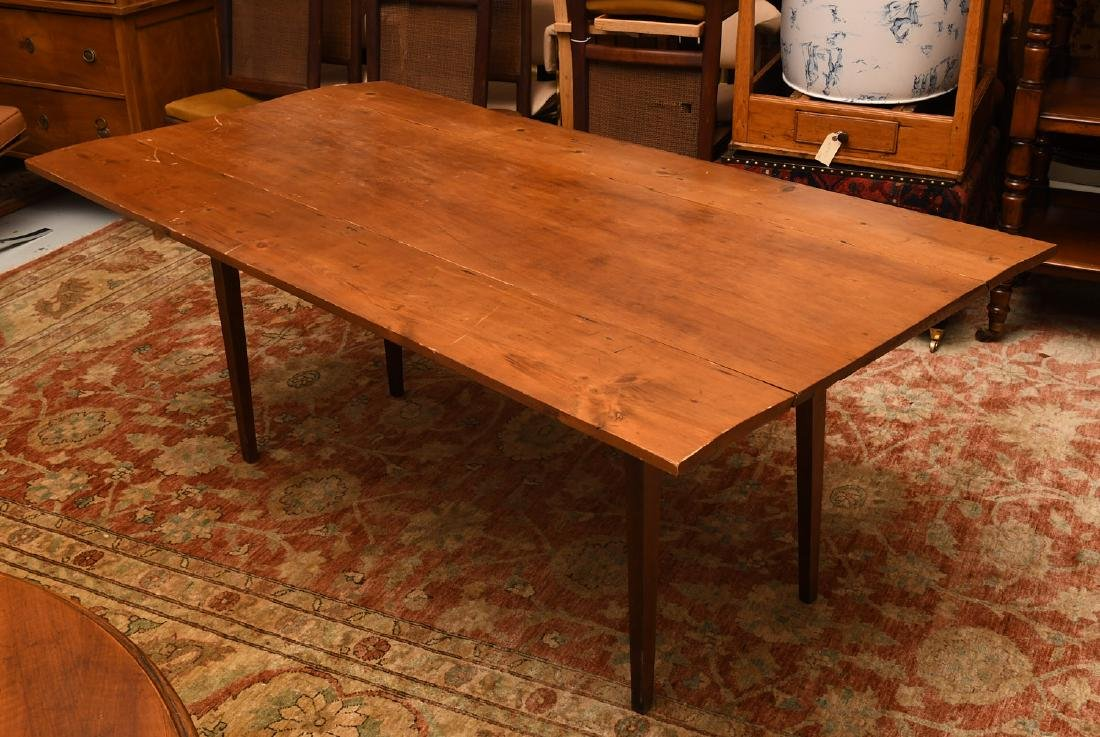 Rustic pine hunt table - 2
