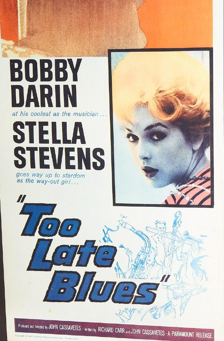 Too Late Blues, original movie poster - 3