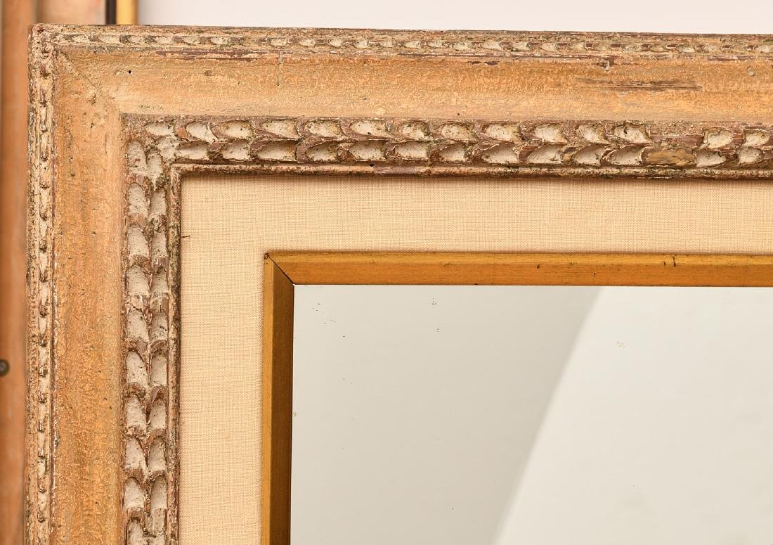 Italian style carved wall mirror - 2