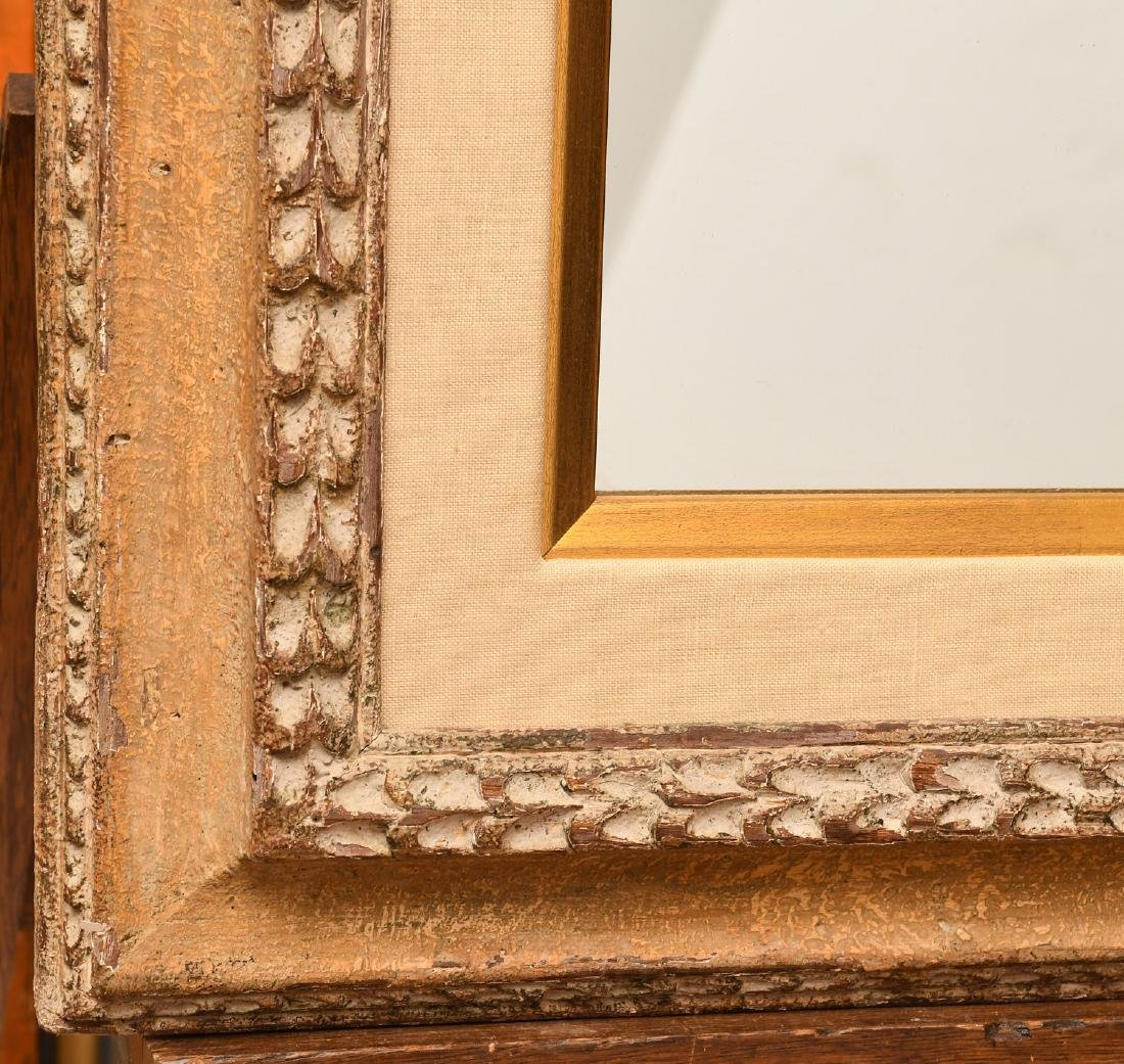 Italian style carved wall mirror - 4
