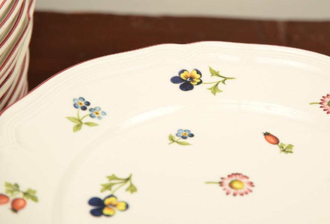 """Villeroy & Boch """"Petit Fleur"""" part china set - 9"""