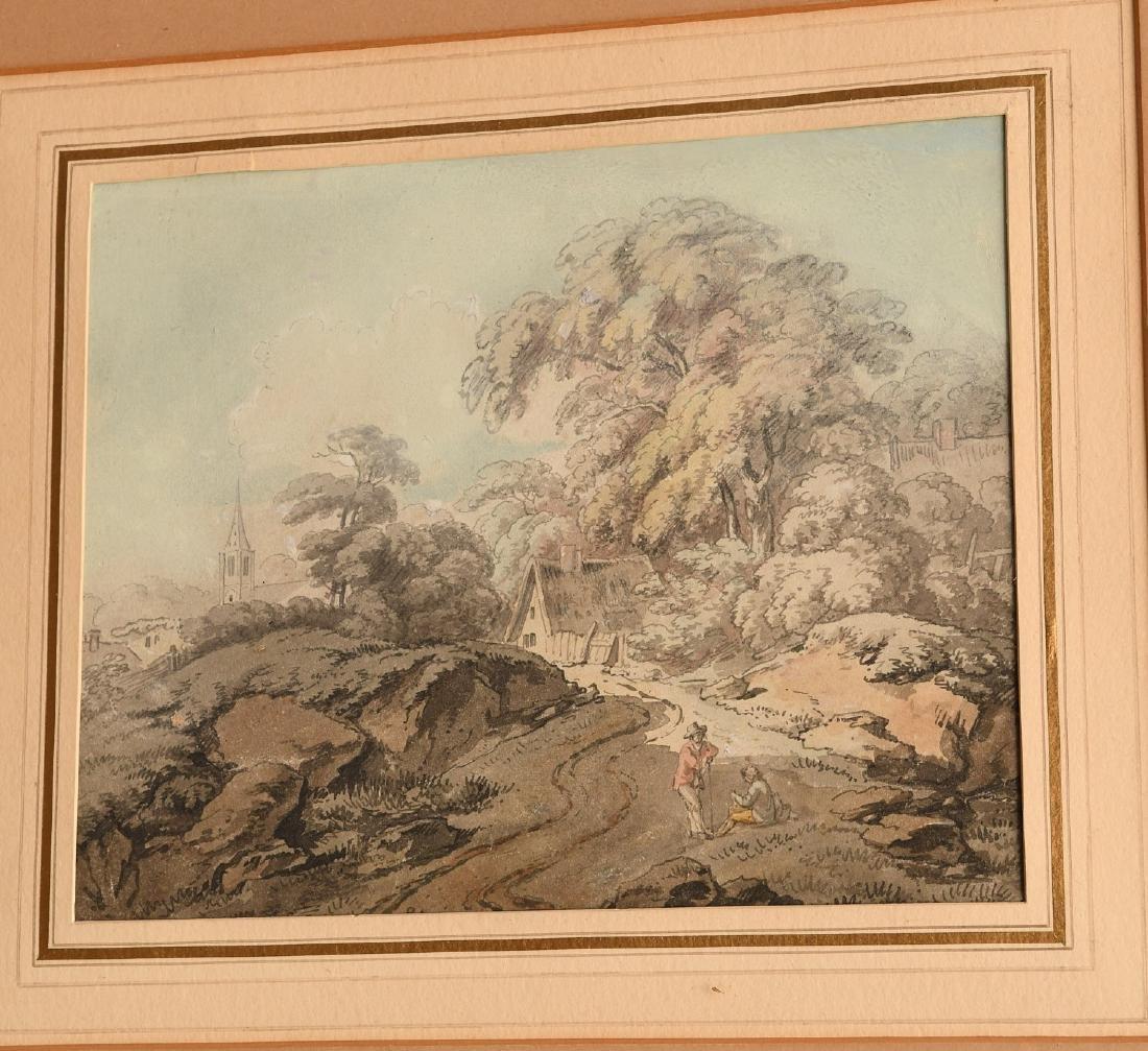 Francis Wheatley (attrib.), watercolor - 2