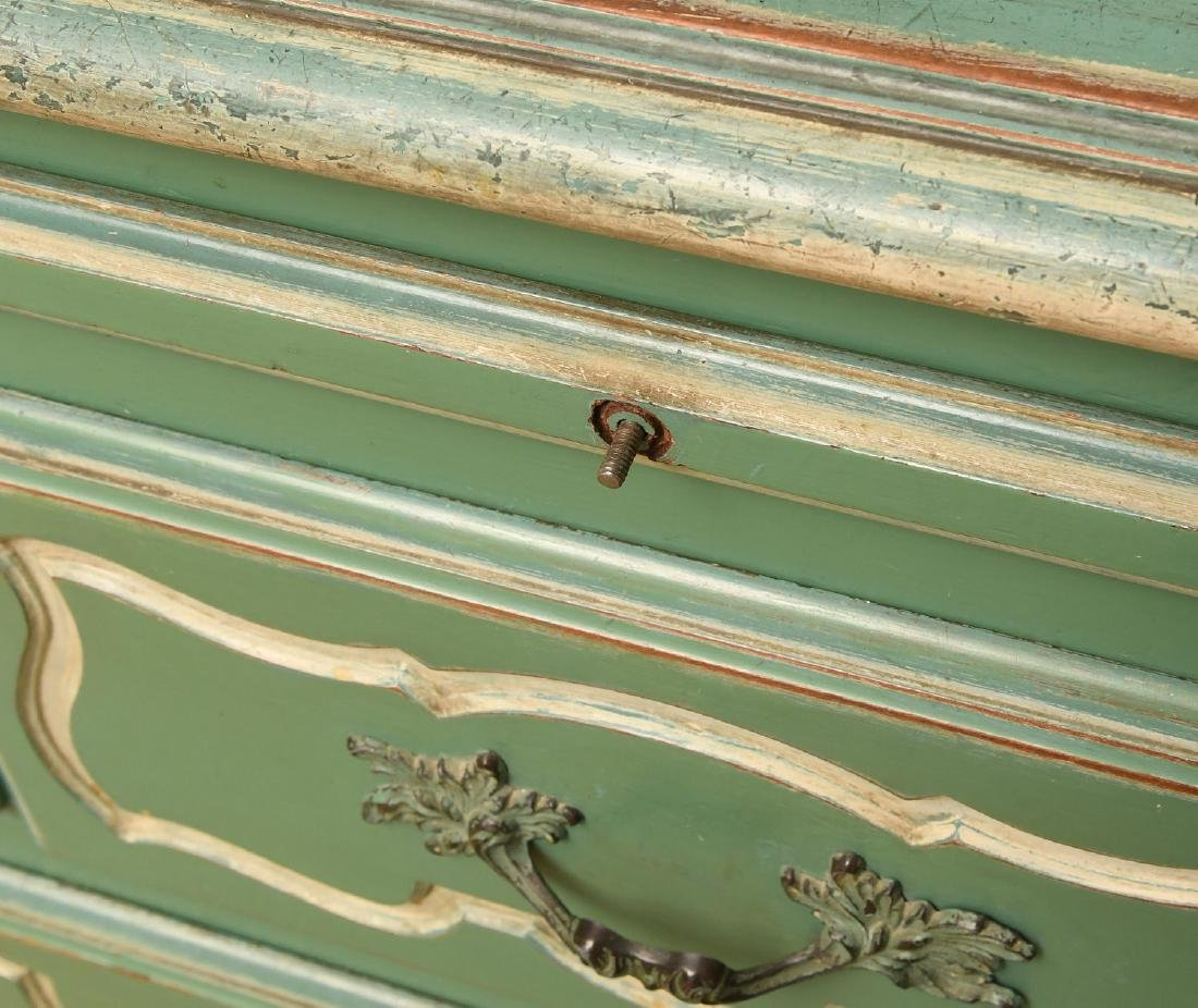 Louis XV style painted buffet - 2