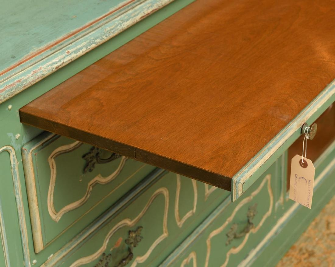 Louis XV style painted buffet - 6
