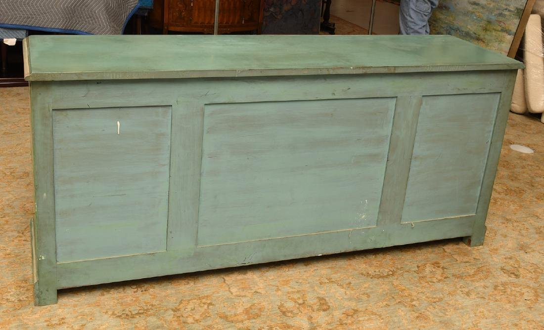Louis XV style painted buffet - 9