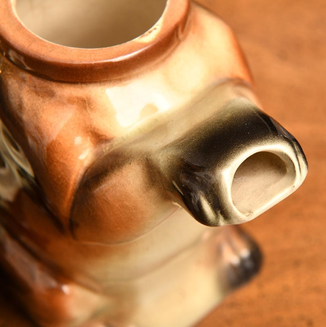 Erphila Germany Dachshund teapot - 5
