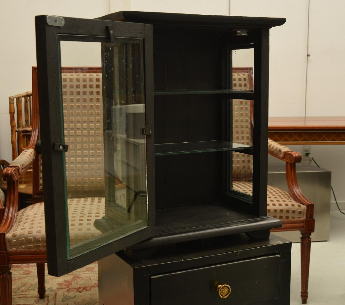 Custom display cabinet on stand - 3