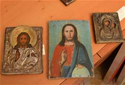 3 RussianGreek polychrome icons