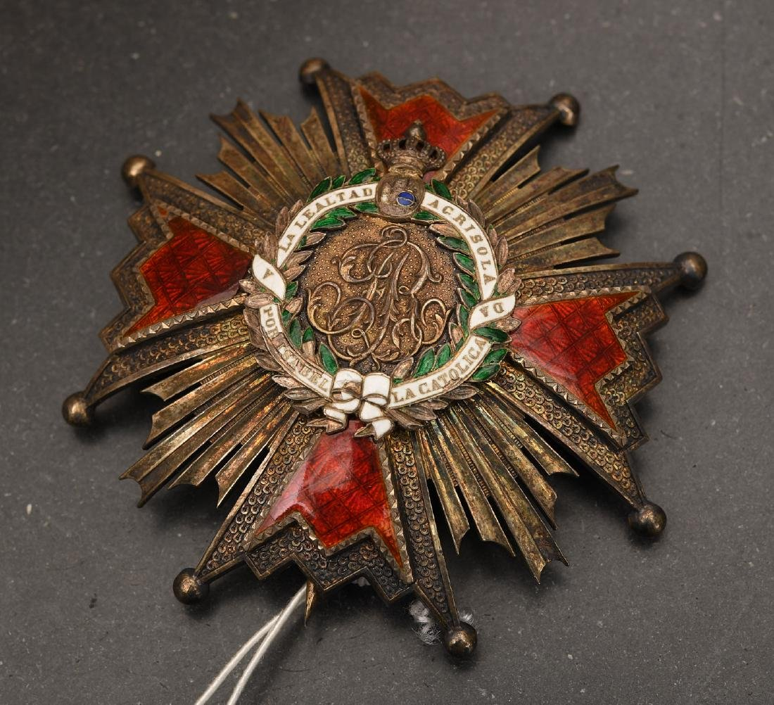 Order of Isabella the Catholic, 2nd class star