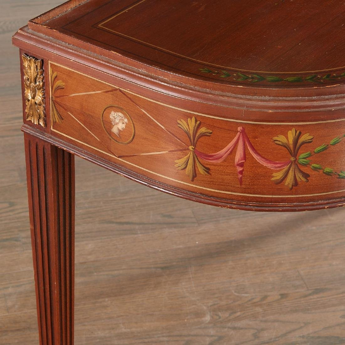 Adam style painted mahogany console - 3