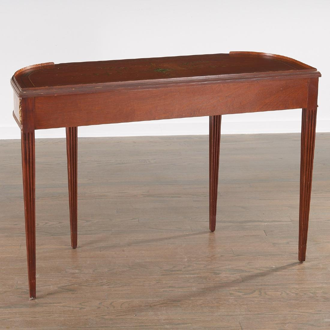 Adam style painted mahogany console - 8