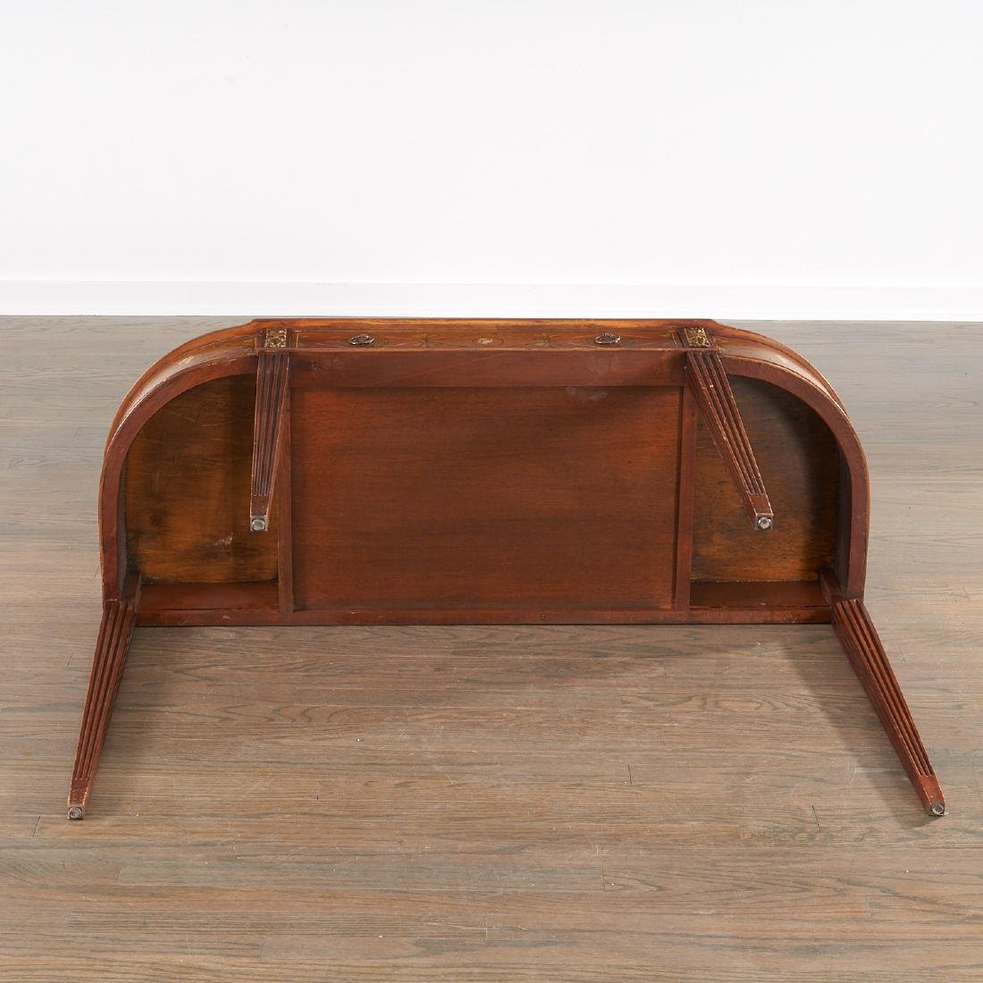 Adam style painted mahogany console - 9