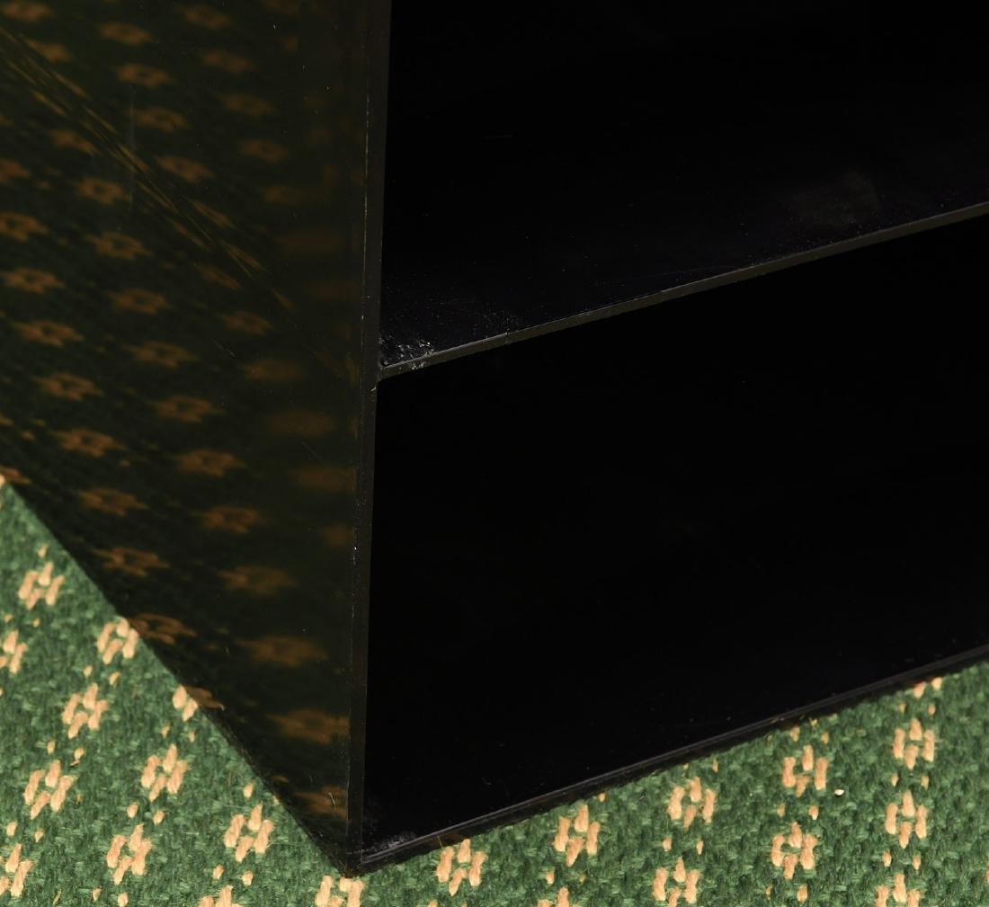 (2) Kartell style acrylic stacking storage cubes - 3
